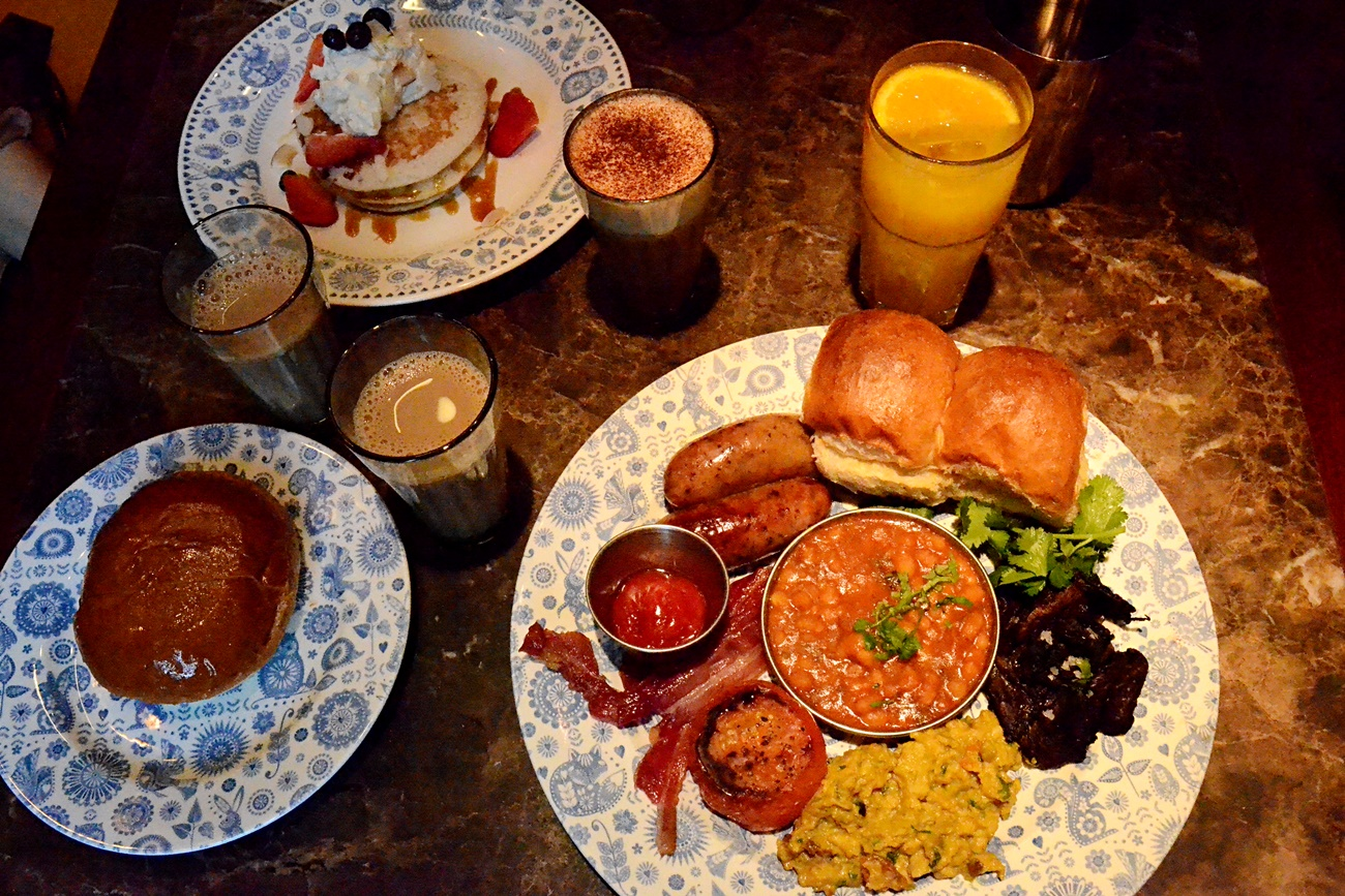 Trying Breakfast at Dishoom