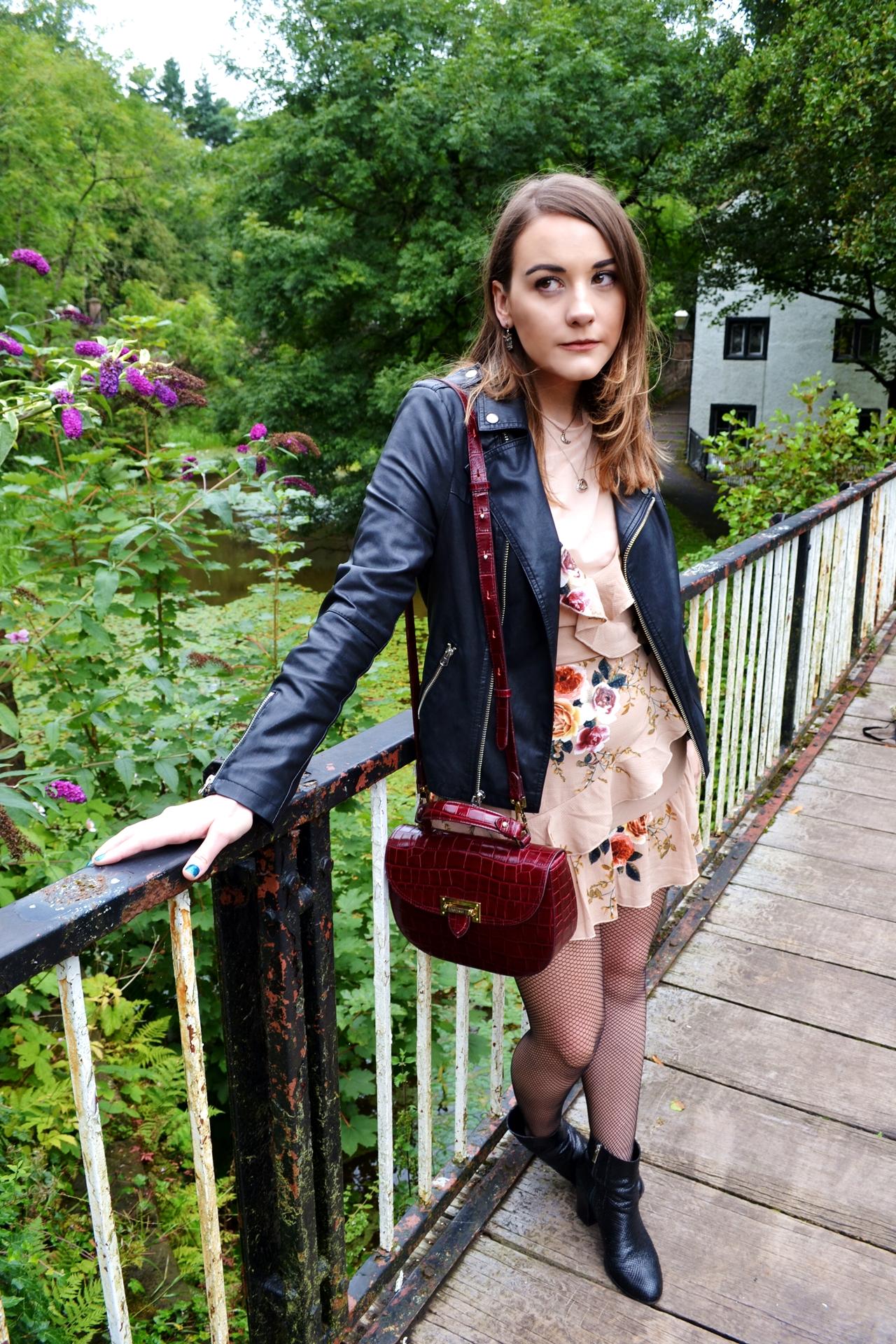 styleetc style etc how to wear ruffle dress