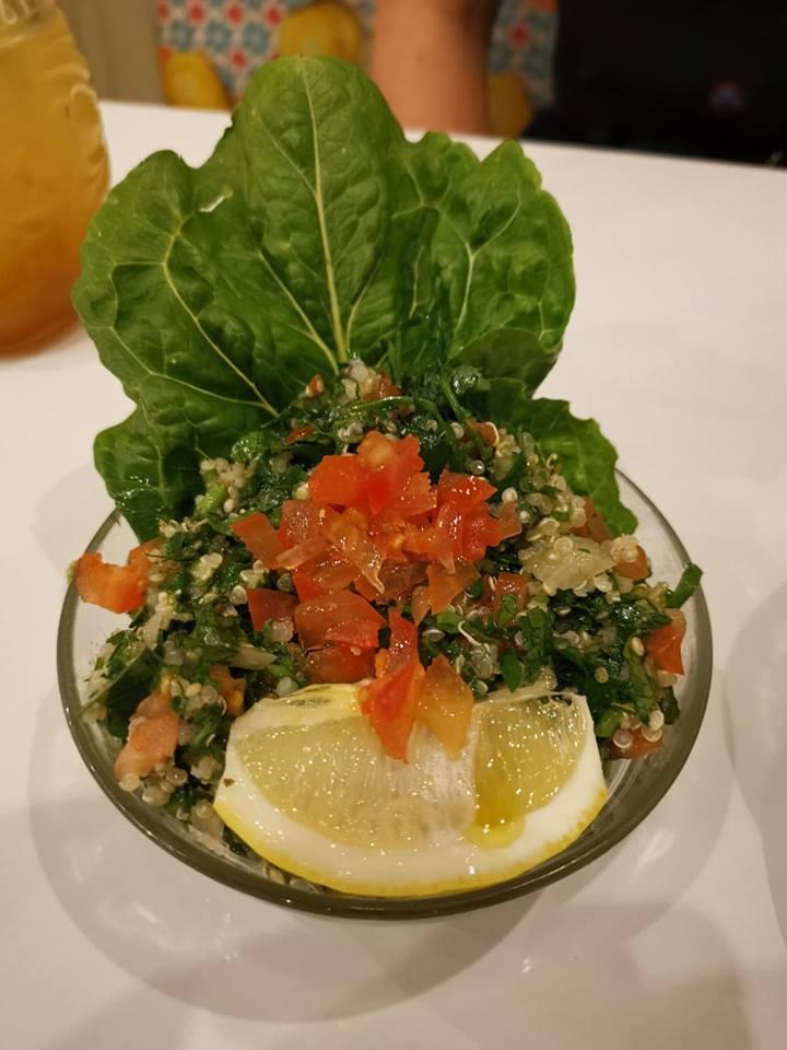 comptoir libanais vegan lebanese food