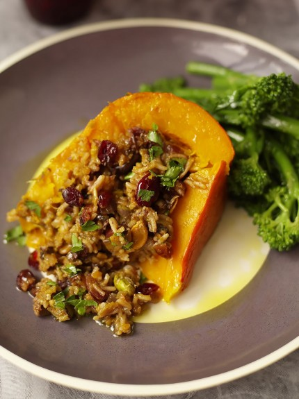 jamie oliver good food baked pumpkin recipe