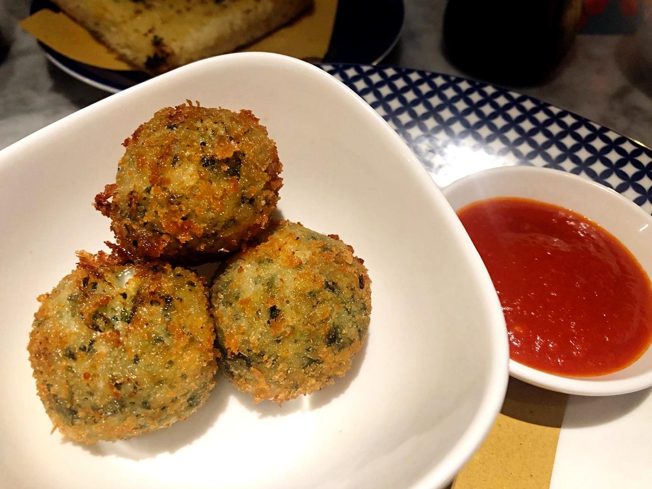 sicilian rice balls carluccios
