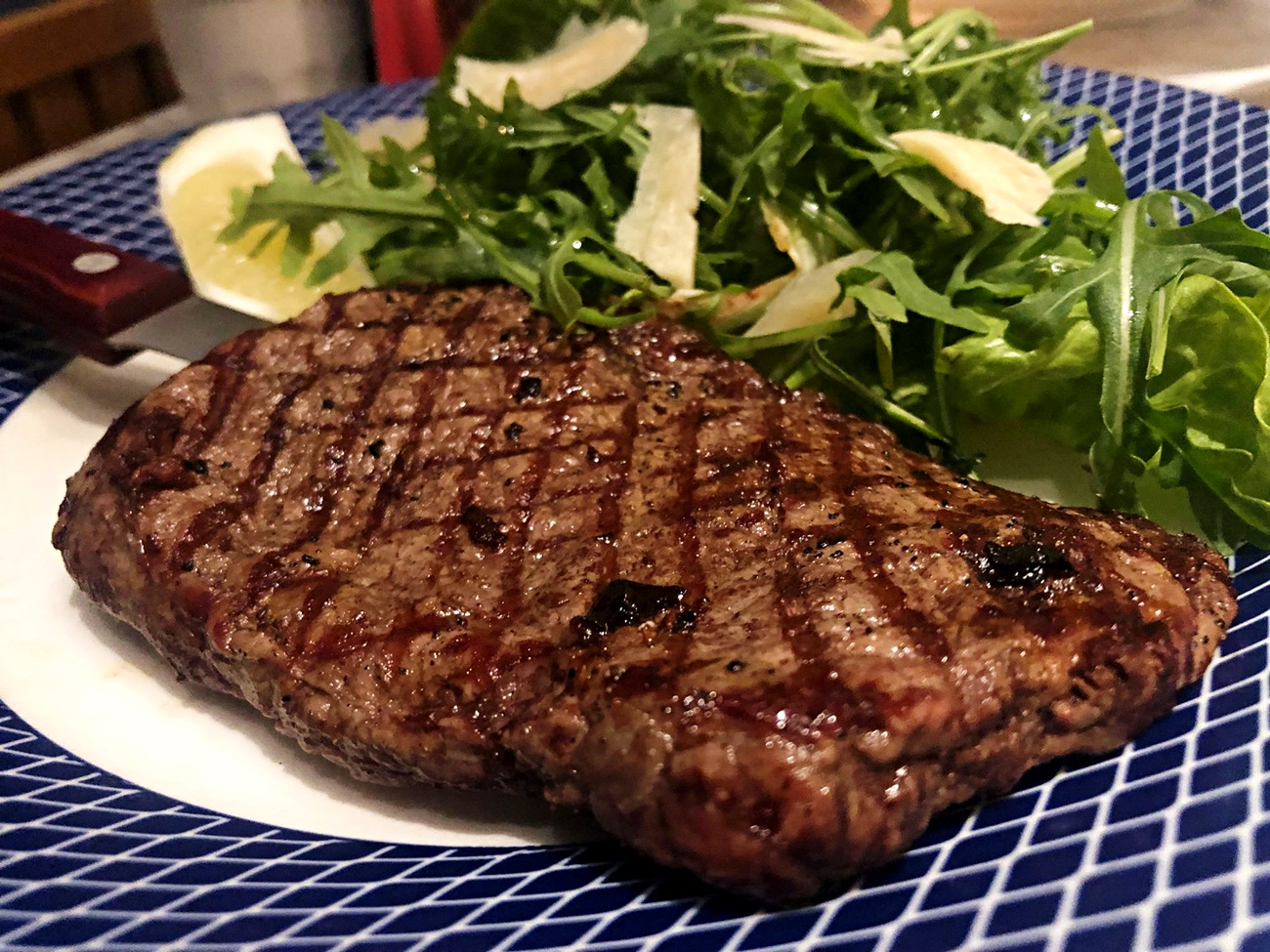 minute steak carluccios
