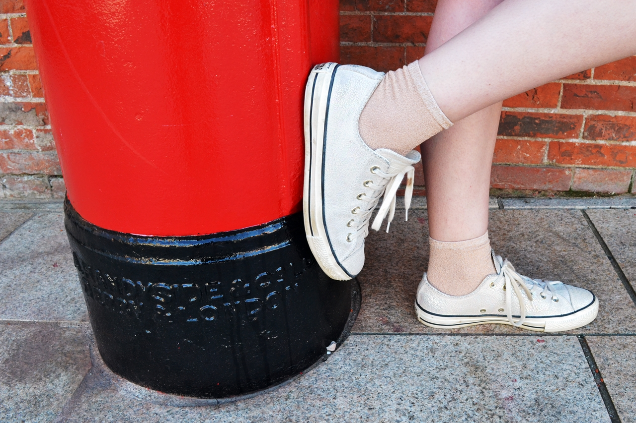 converse mermaid shoes postbox style fashion
