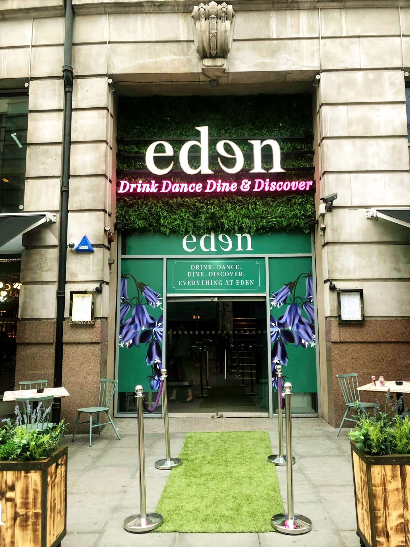eden outside sign