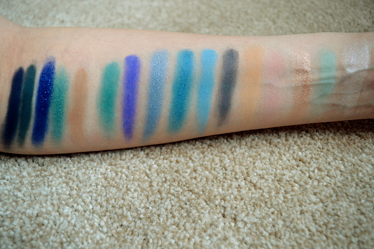 swatches blue blood palette