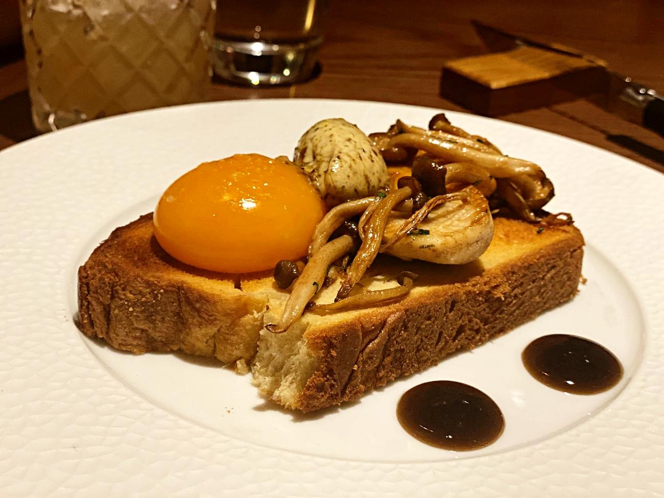duck egg starter lowry river restaurant