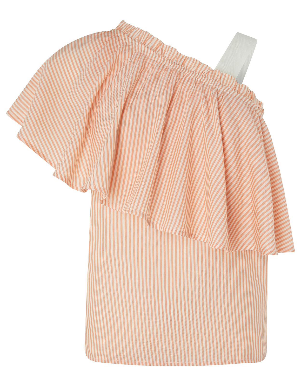 striped asymetric top