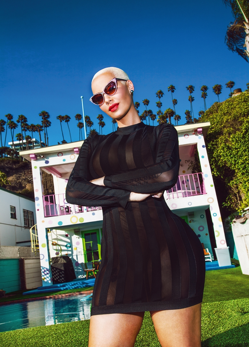 amber rose babes of missguided collection