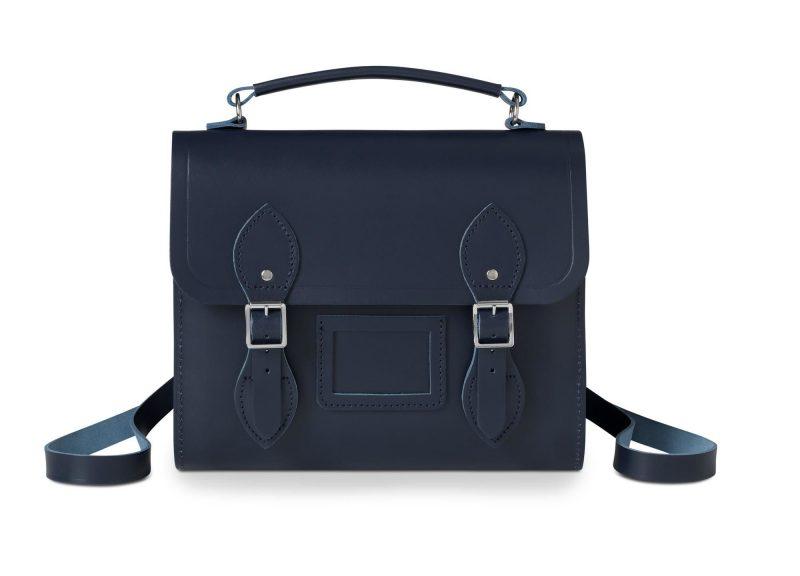 cambridge satchel navy barrel backpack