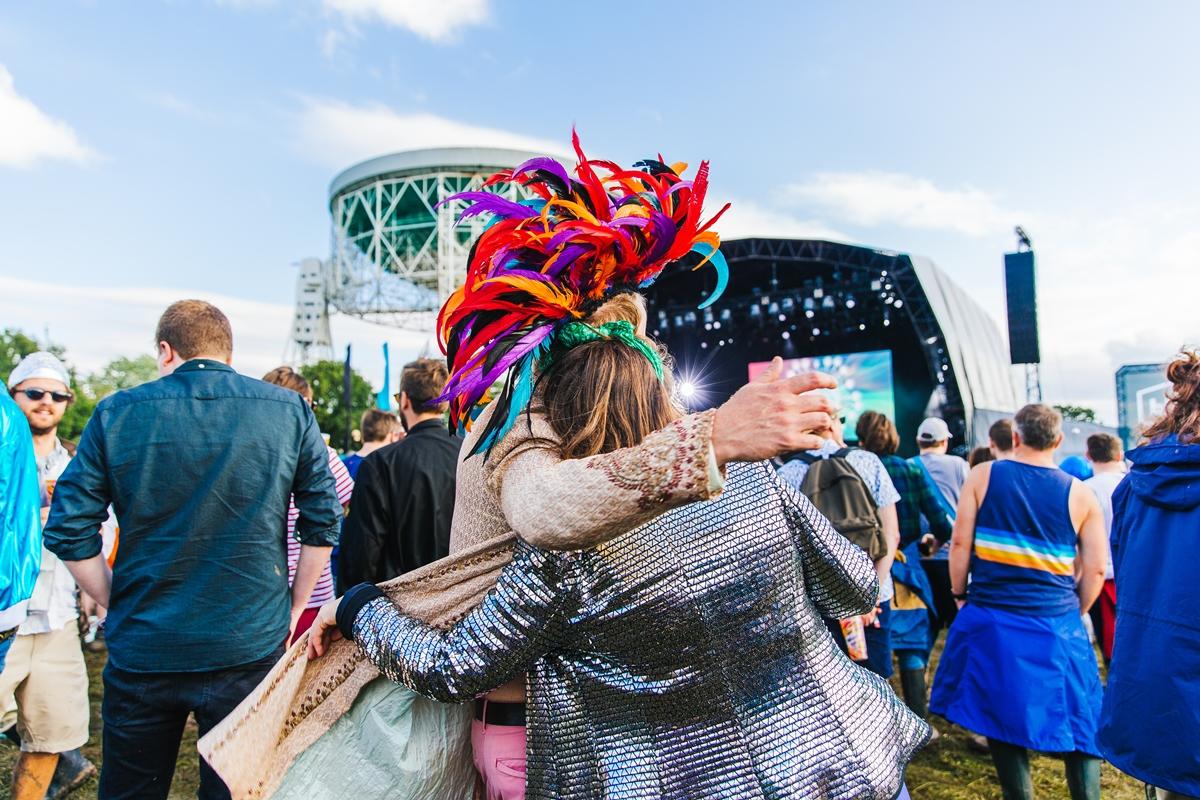 main stage bluedot festival