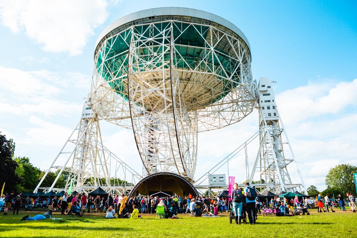 What happened at Bluedot festival 2019