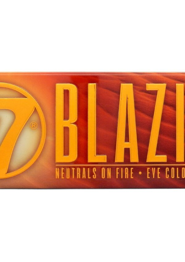 W7 Blazin Eyeshadow Review