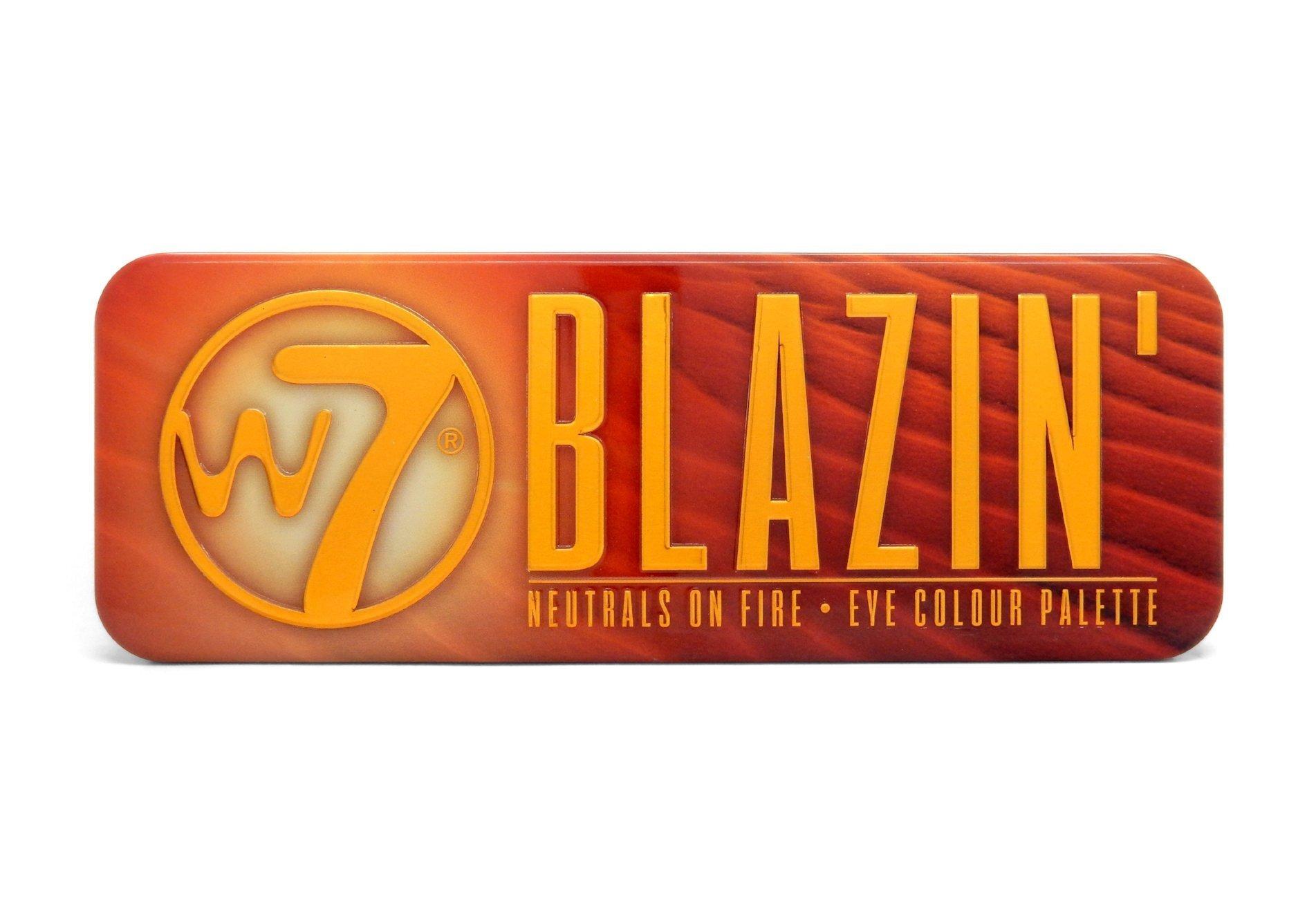 W7 Blazin Eyeshadow Review