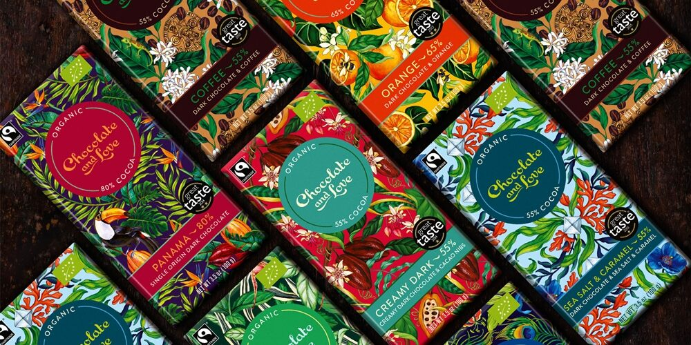 chocolate and love fairtrade chocolate competition win christmas prize uk sainsburys