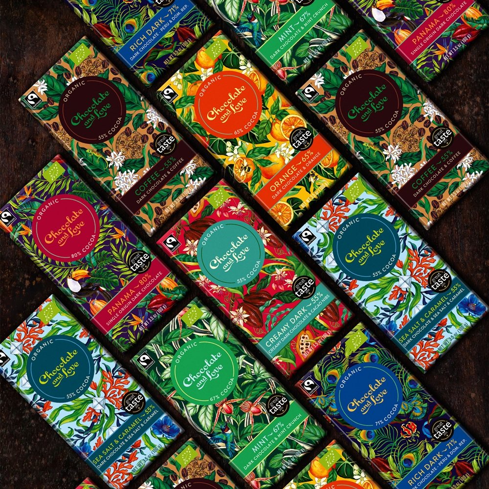 Christmas Competition #5: Win the whole range of chocolate from Chocolate and Love for 2