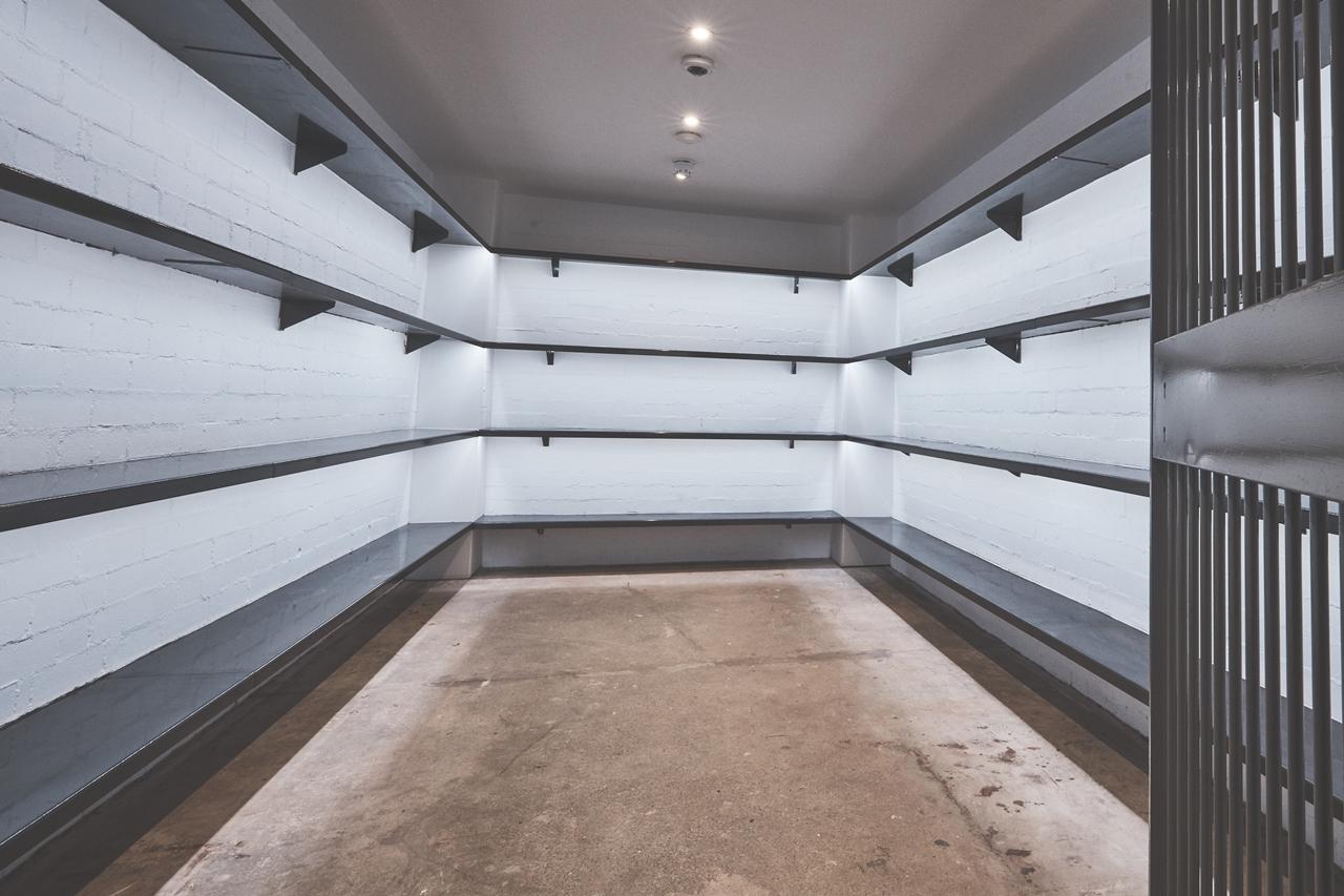 coggles bank vault inside store alderley edge cheshire