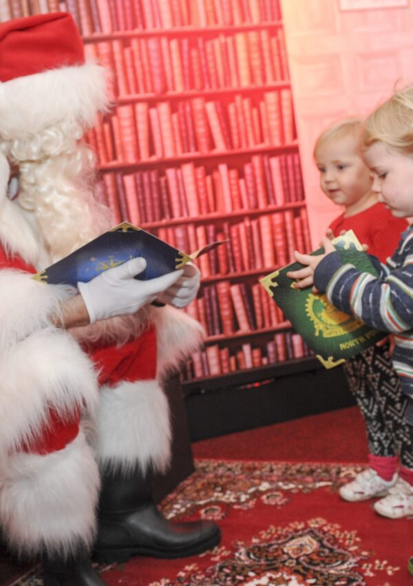 Santa's Secret Workshop Opens for Business