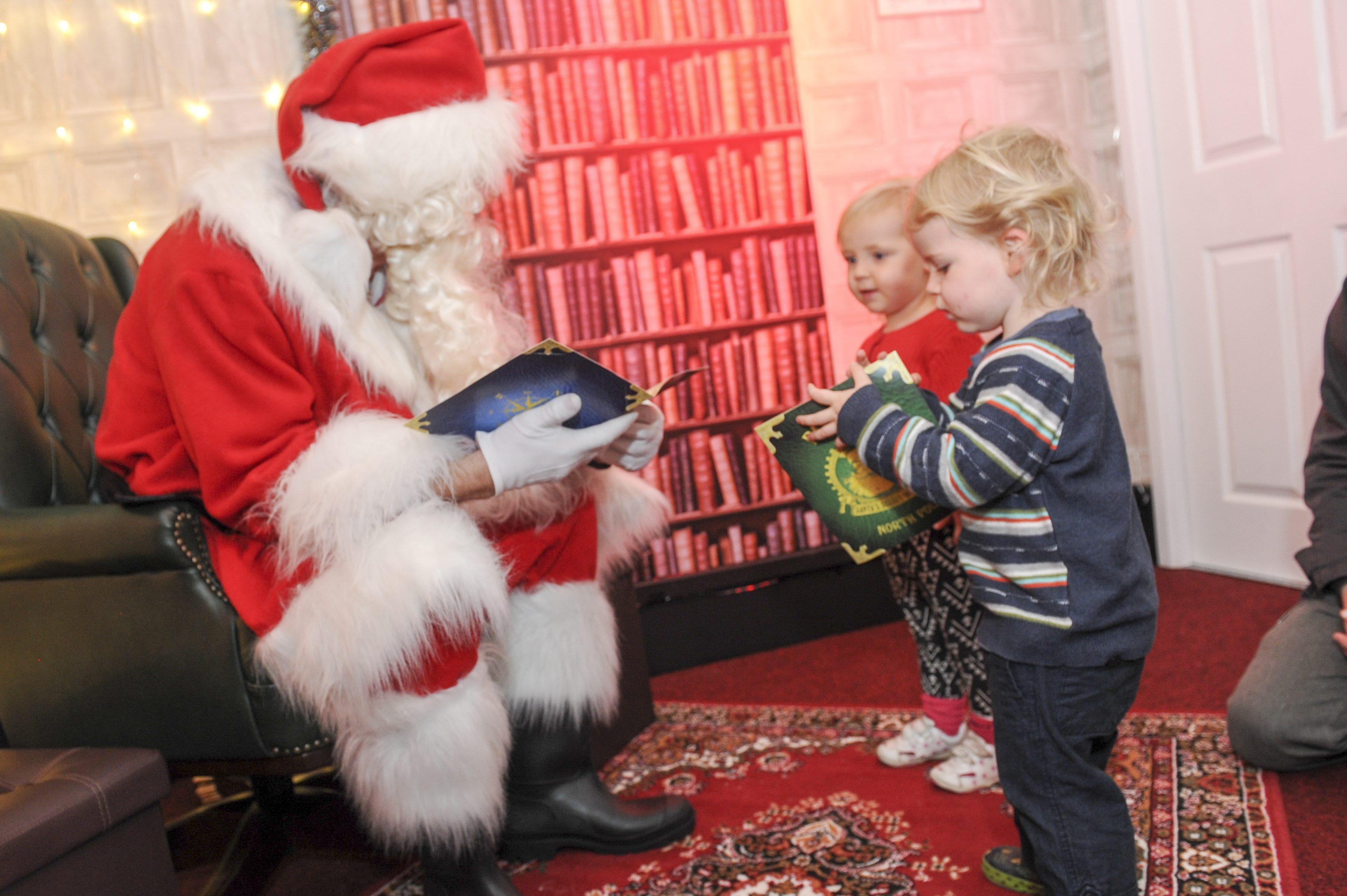 Santa's Secret Workshop Opens for Business