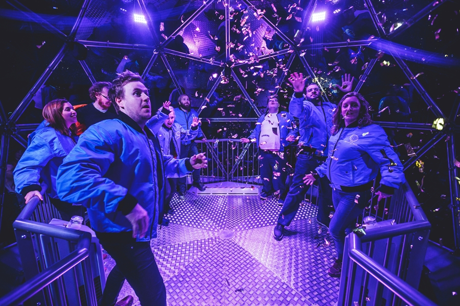 the crystal maze live experience manchester dome