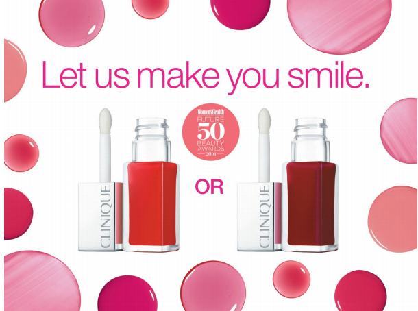 Get a Free Clinique Pop Oil Lip and Cheek Glow at Boots
