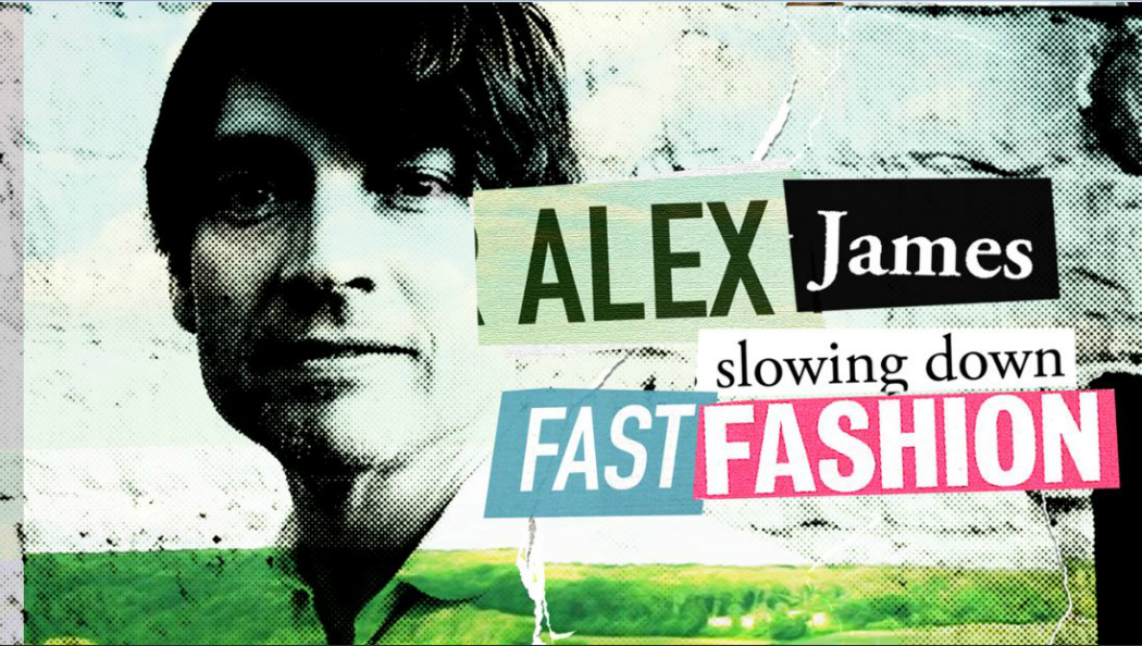 Alex James wins Best Fashion Documentary at the London Fashion Film Festival
