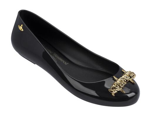 vivienne westwood melissa shoes orb patent black