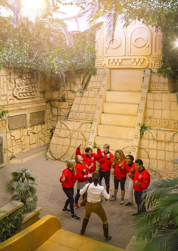 The Crystal Maze Manchester celebrates 1 Year