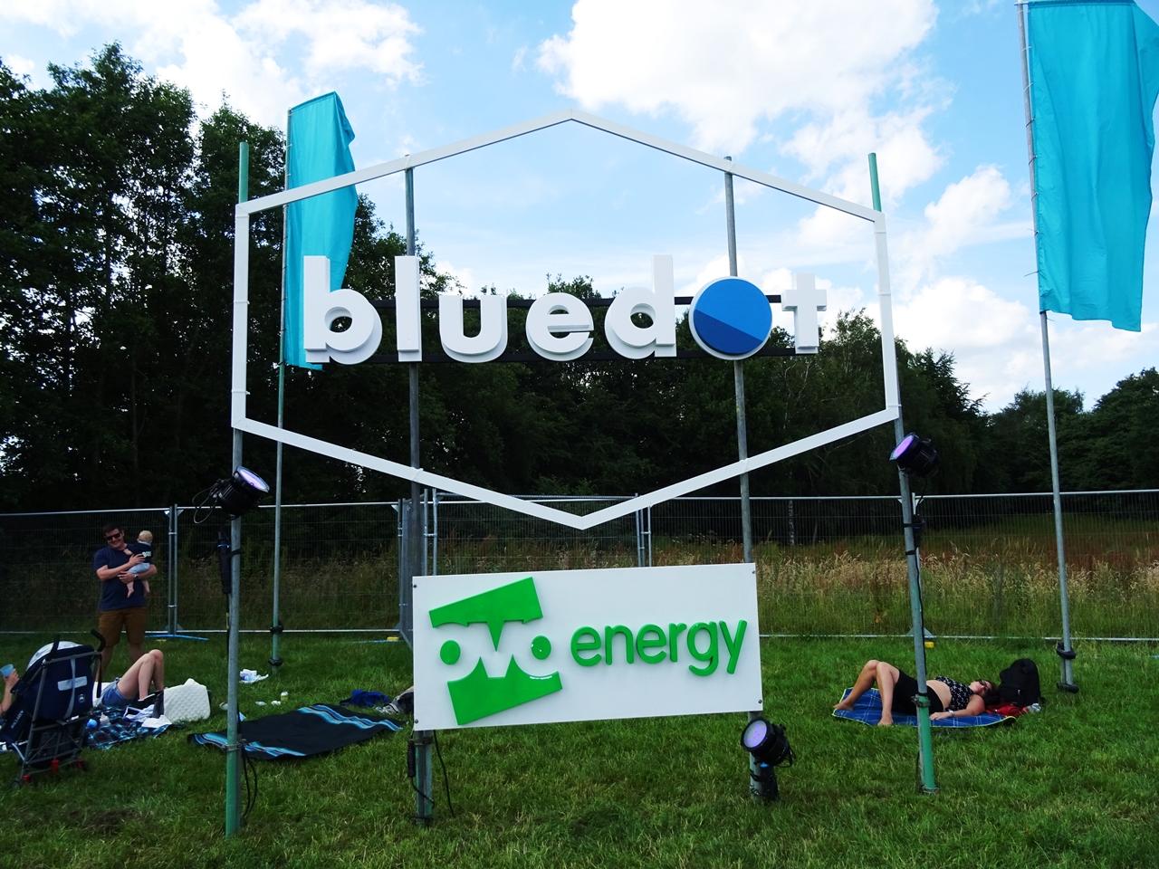 bluedot festival sign 2017
