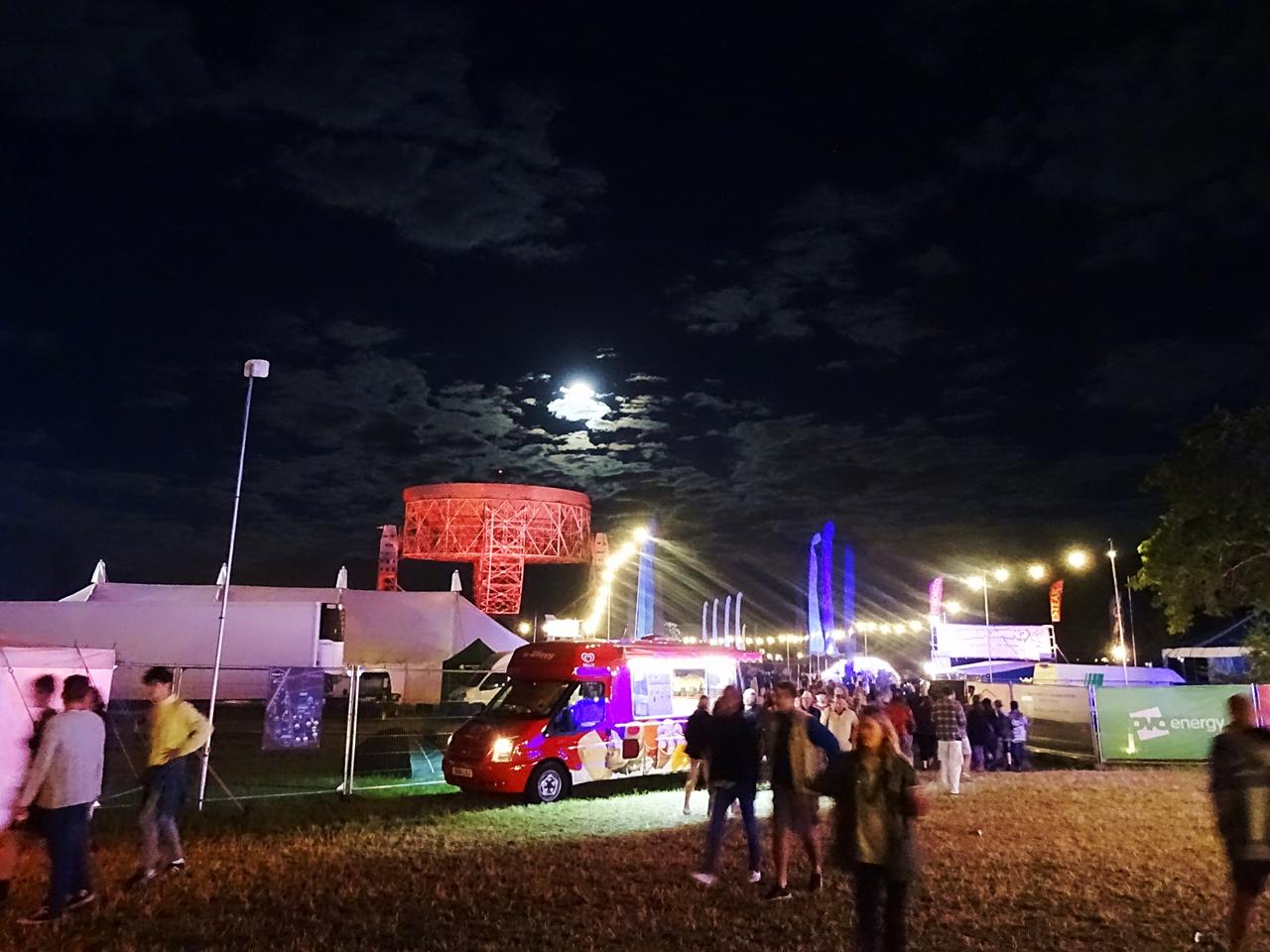 bluedot festival night moon jodrell bank