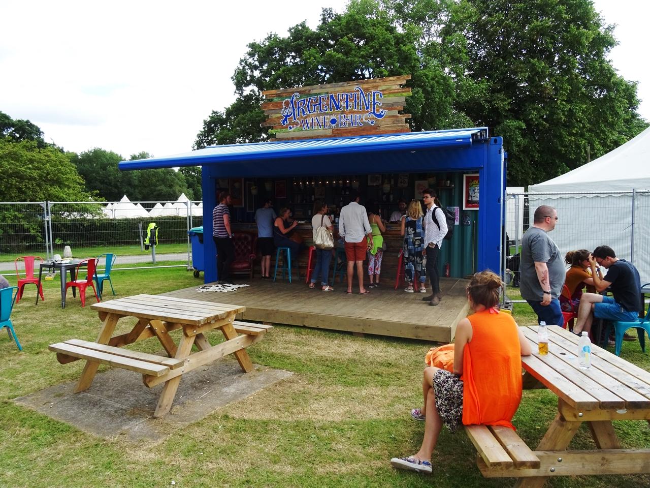 argentine wine bar bluedot festival