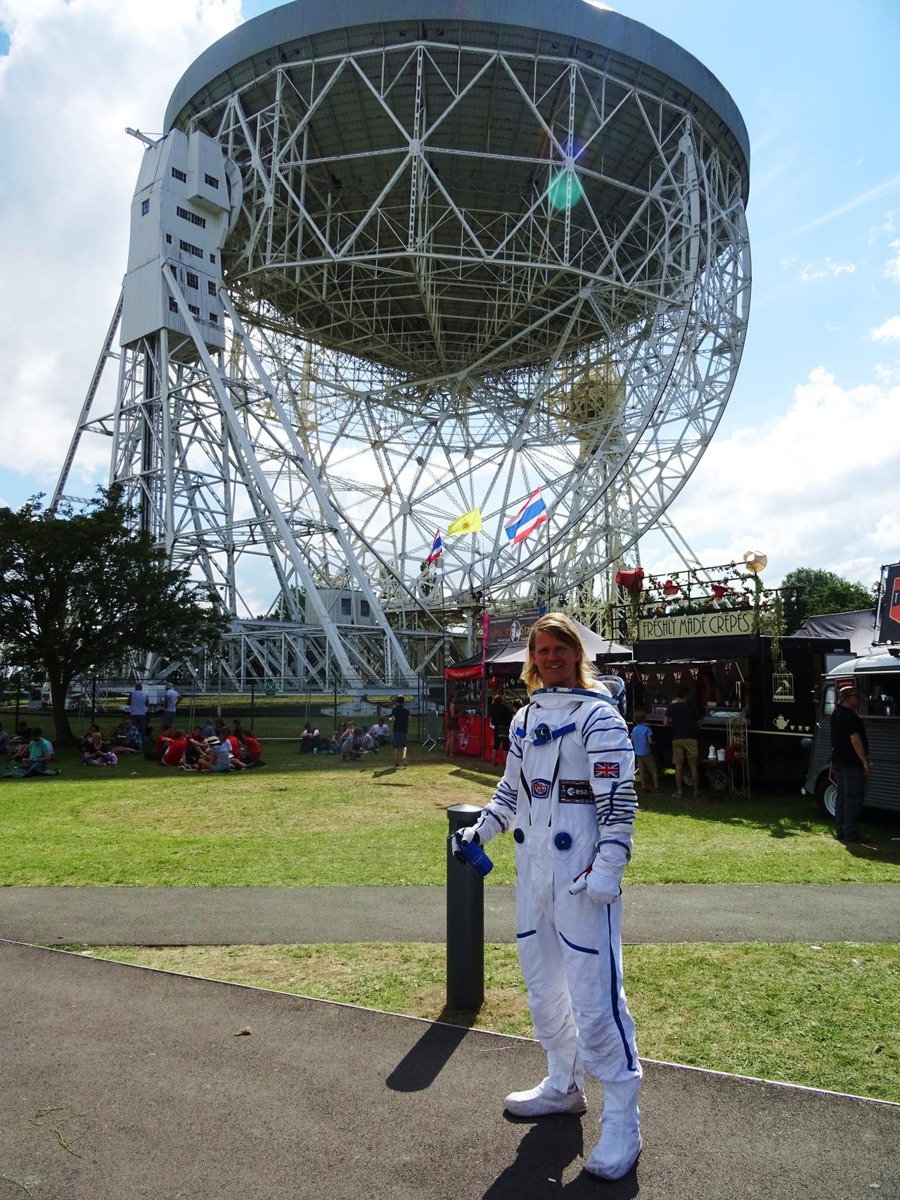 spaceman bluedot lovell telescope