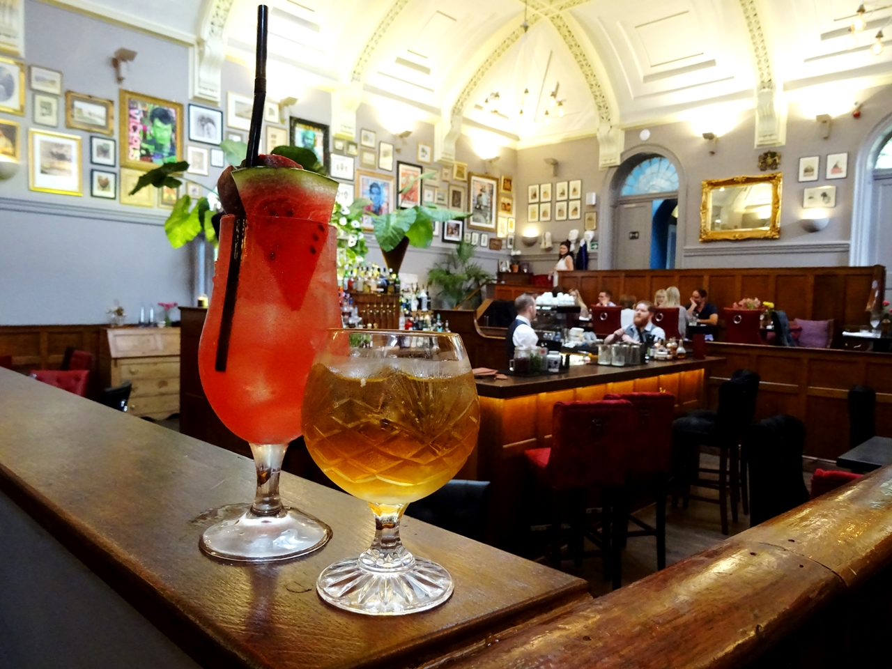 cocktails watermelon sling vanilla rum courthouse knutsford