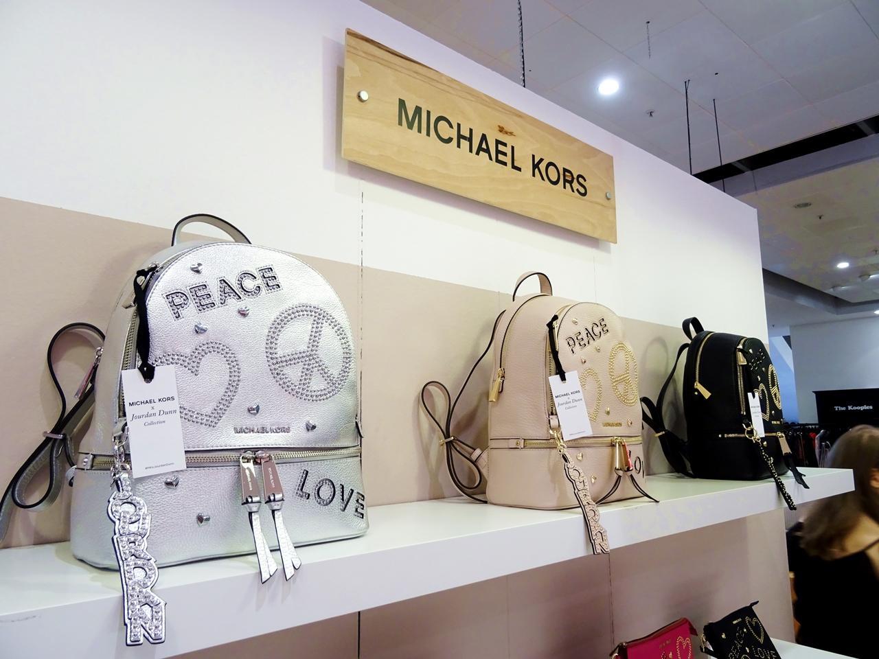 Jourdan Dunn launches Michael Kors collection at Selfridges