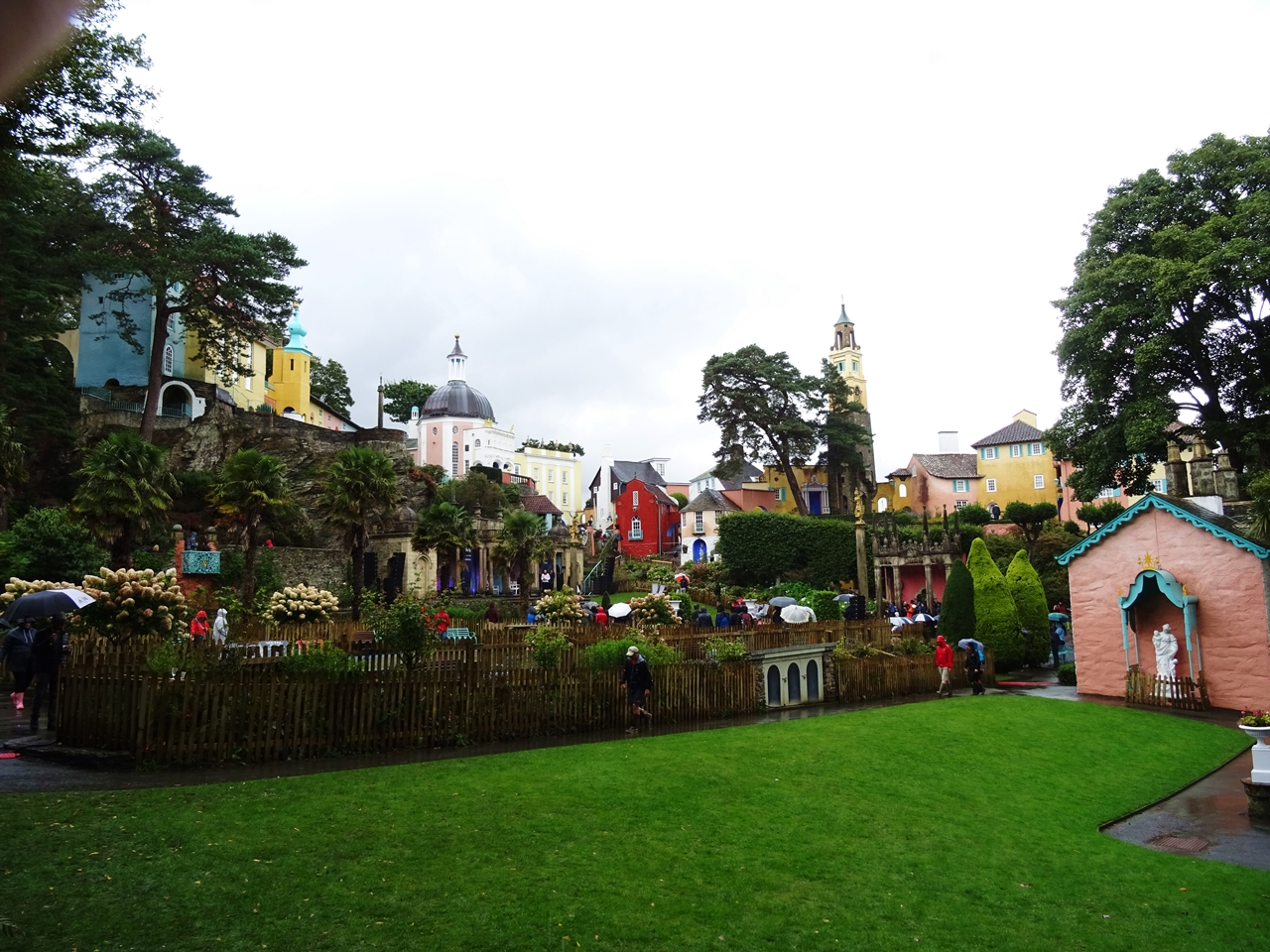 portmeirion village uk wales