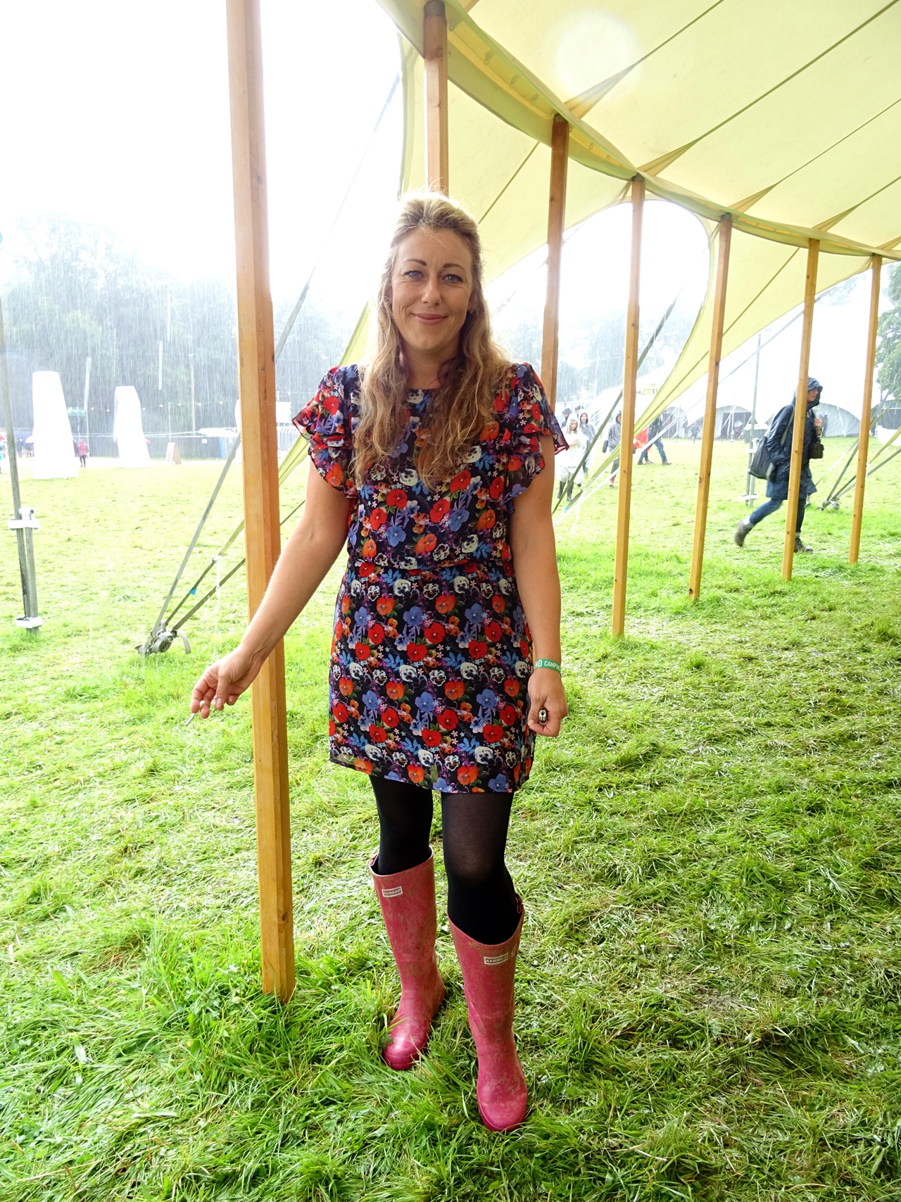 festival number 6 fashion style spotted floral
