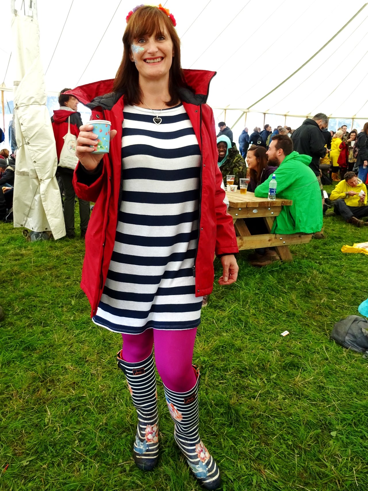 festival number 6 fashion style spotted stripes