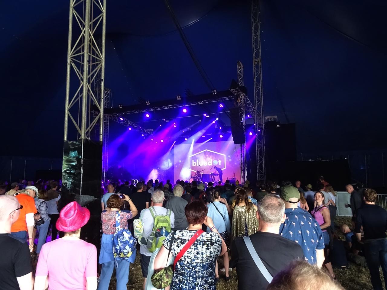 music tent bluedot festival