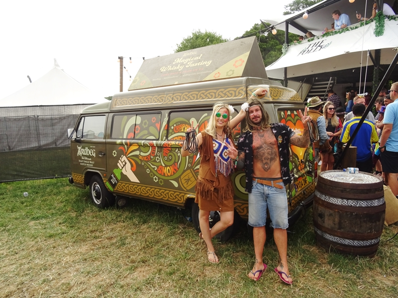 hippies bluedot festival style