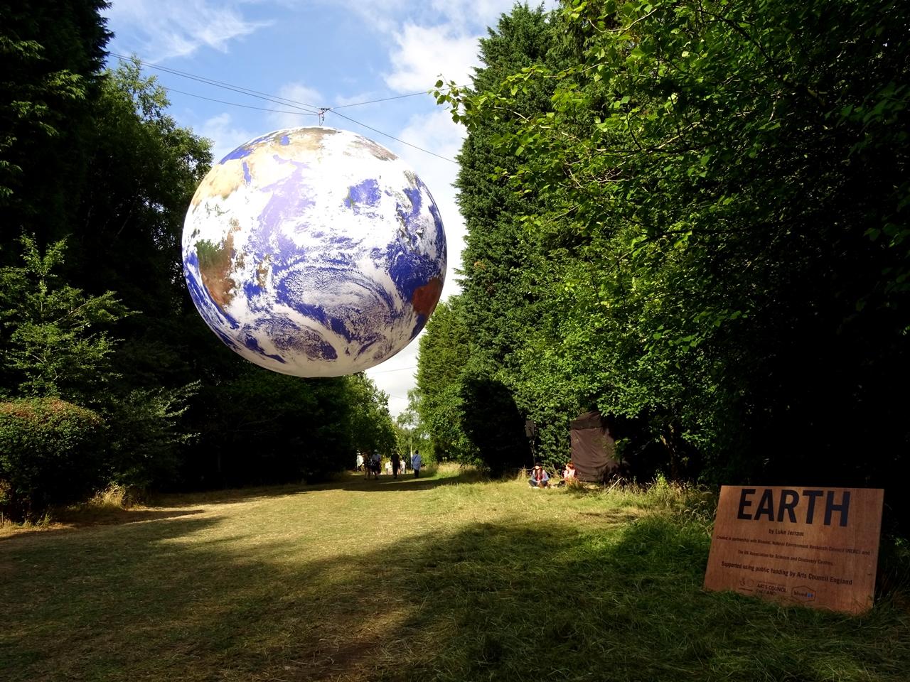 earth art installation