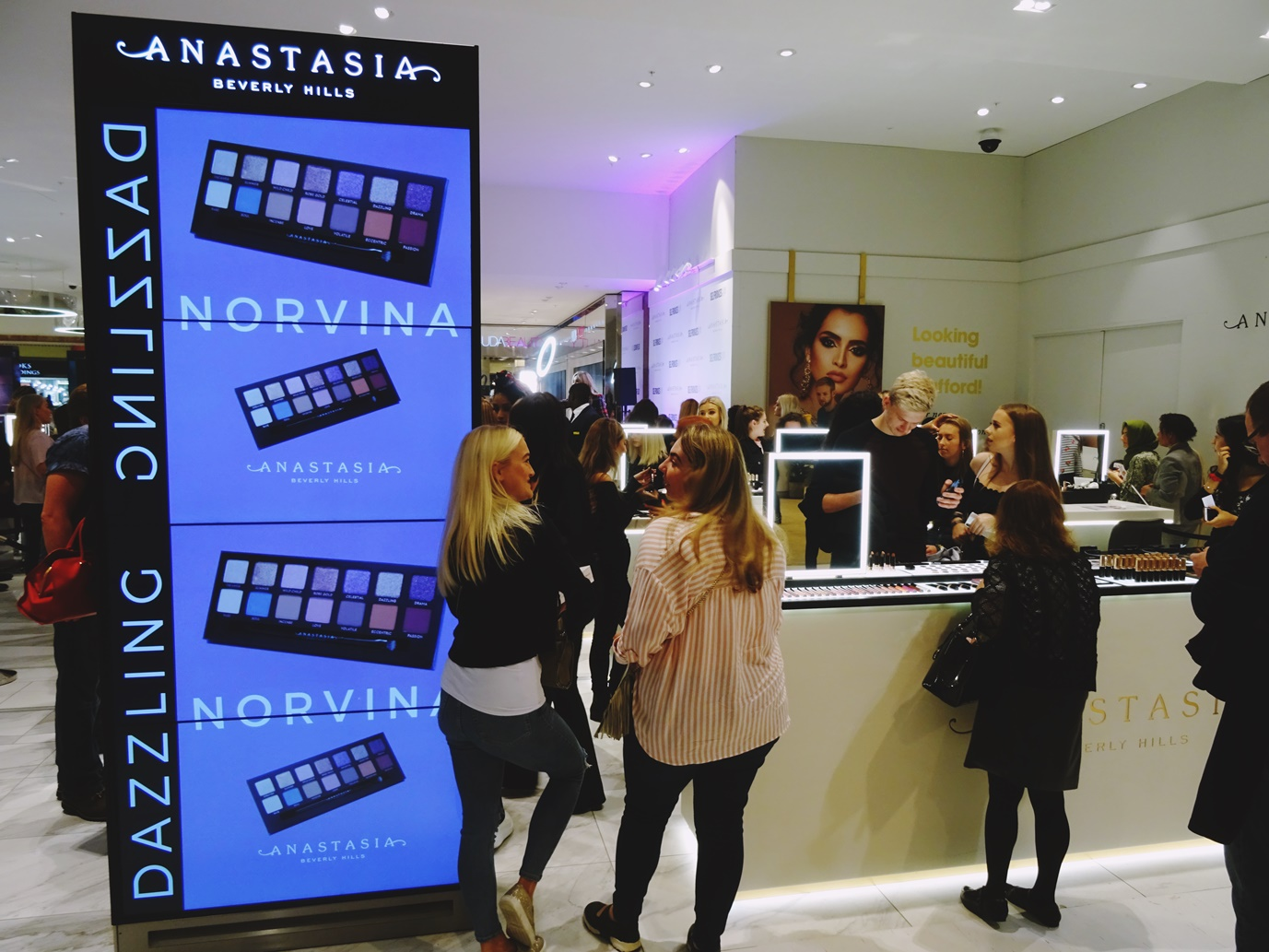 anastasia beverley hills counter selfridges