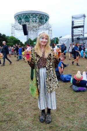 bluedot leopard print coat festival style
