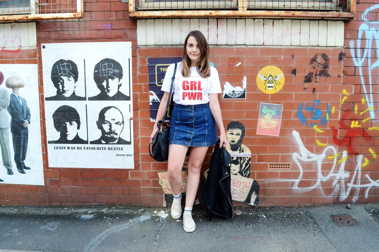 grl pwr tee lotd girl power fashion