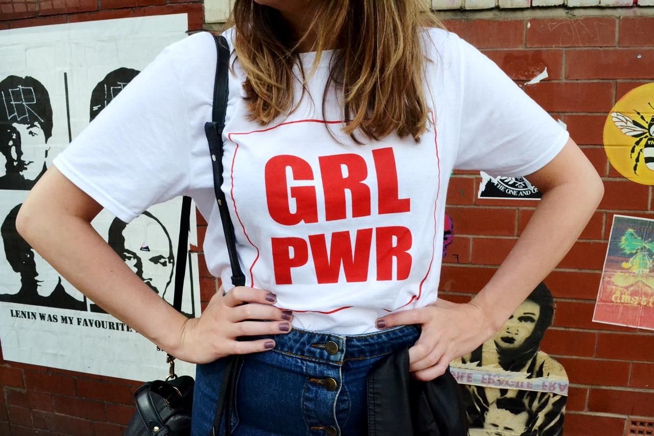 grl pwr t shirt fashion style manchester lotd