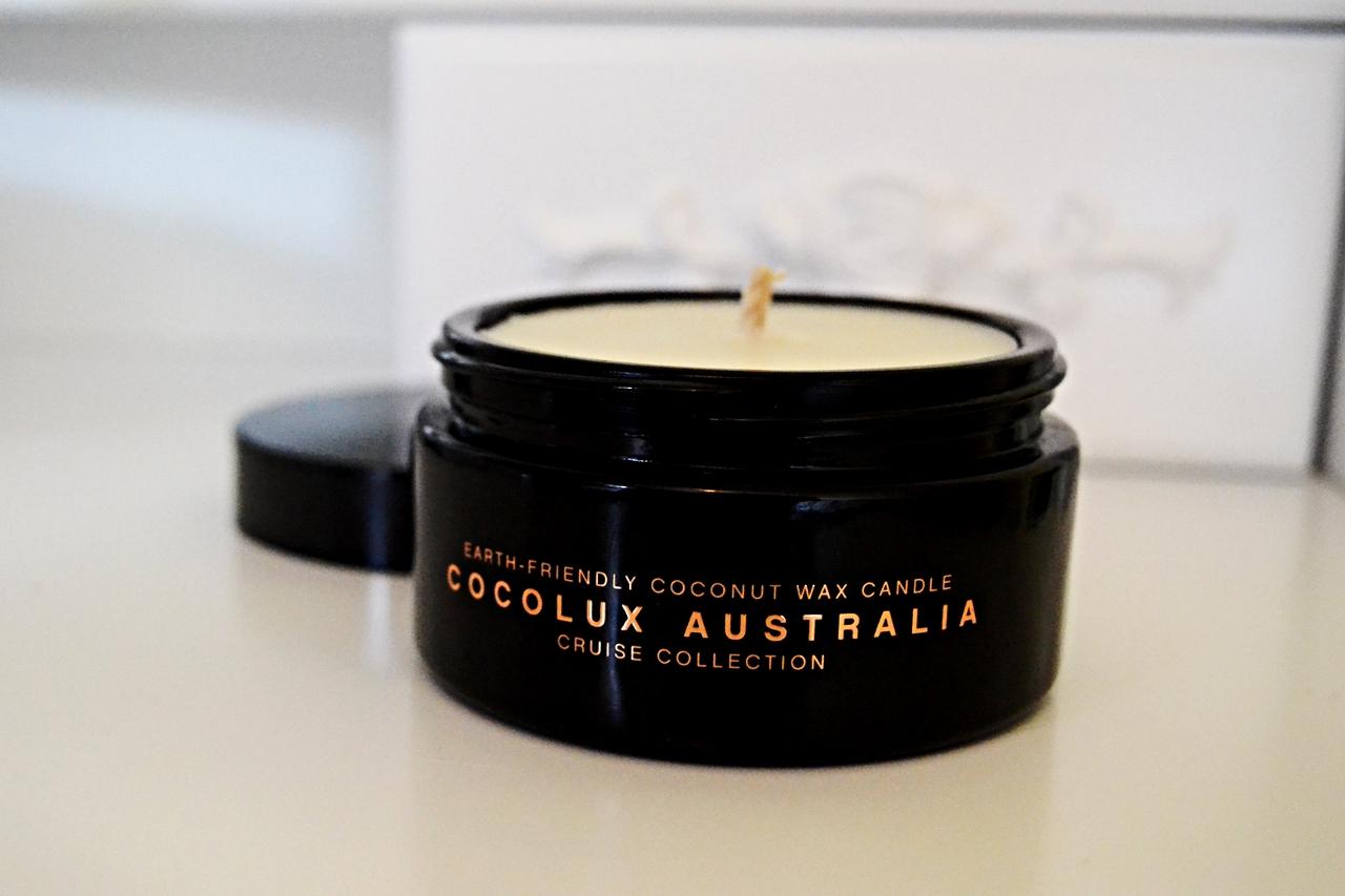 Cocolux Australia Tonka Bean & Lime Zest Candle mintd