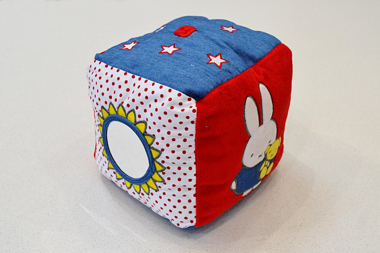 Miffy Denim Activity Cube Toy Review