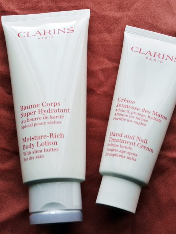 Clarins Rich Moisture Body Lotion and Hand Treatment Cream Review