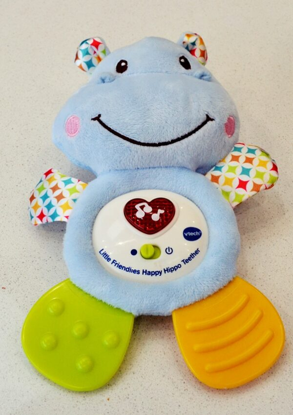VTech Little Friendlies Happy Hippo Teether Review
