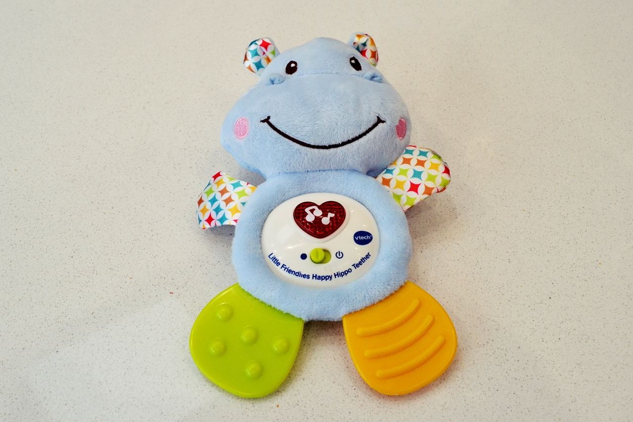 VTech Little Friendlies Happy Hippo Teether Review