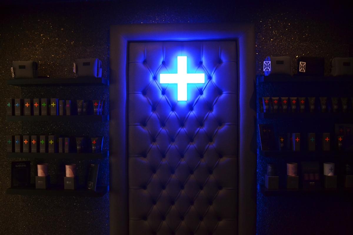 Skin Health Spa Harvey Nichols Review lobby cross flint + flint