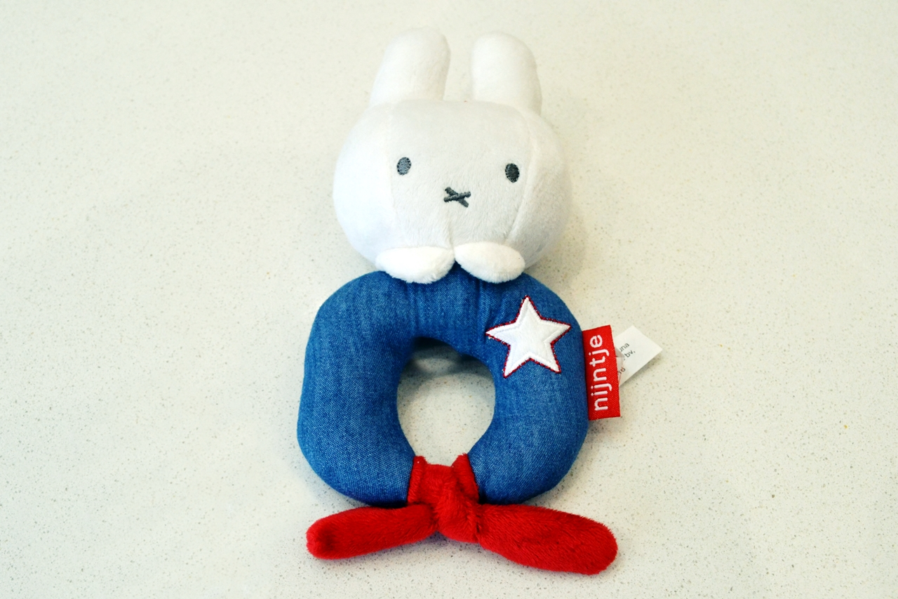 Miffy Baby Rattle Review